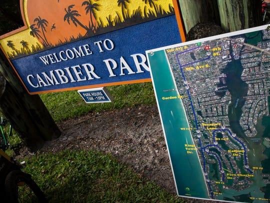 Cambier Park in Naples, Florida.