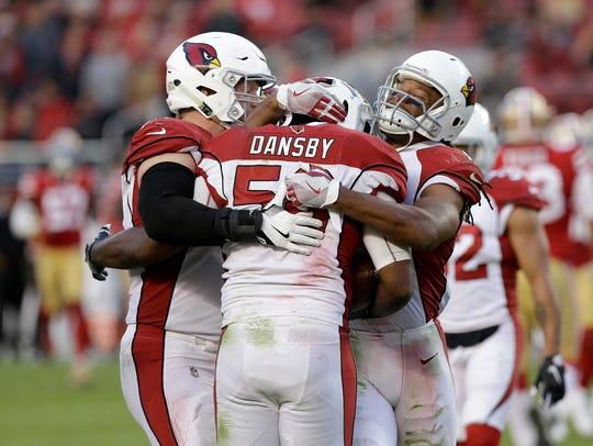 Arizona Cardinals inside linebacker Karlos Dansby,