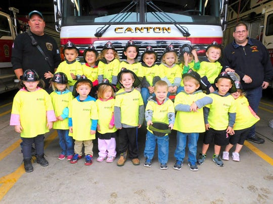 Students from Bradford-Tioga Head Start recently learned about the importance of fire safety.