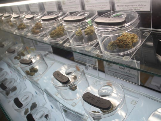 Marijuana for sale at Monterey Bay Alternative Medicine.