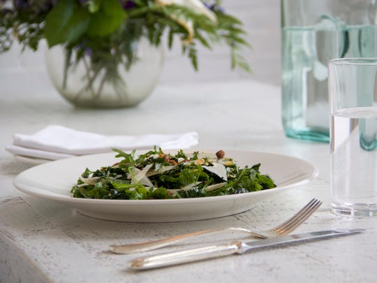 Kale Salad is one of the offerings at Smithy in Santa