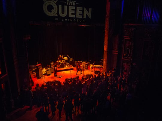 Grace Vonderkuhn opens for Pennsylvania rock act The Districts at The Queen in Wilmington last month.