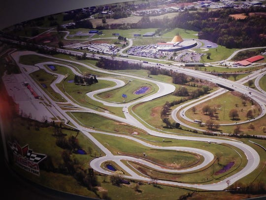 The winding, challenging road course at NCM Motorsports