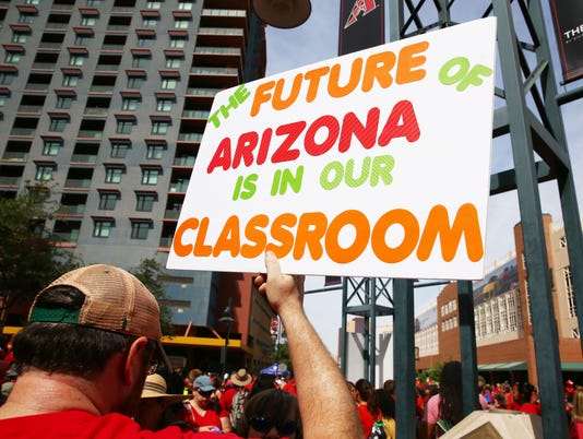 Arizona teacher walkout