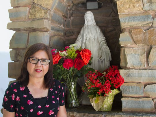 Claudia Canales is the St. George Catholic Church's