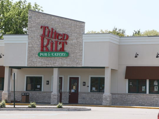 The site of the former Tilted Kilt in the Town of Poughkeepsie