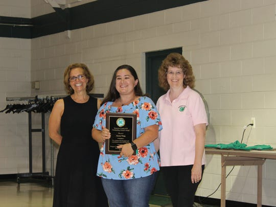 This year, two Somerset County 4-H Leaders —Judy Hennessy and Betty Sommerville —and two Alumni— Alyson Weiss (pictured) and Mellissa Smutko —have been recognized for their efforts and dedication, by being awarded the 4-H Outstanding Volunteer and Outstanding Alumni Award. All were recognized on July 18, during a 4-H Association meeting, as well as a dinner reception in their honor on July 25.
