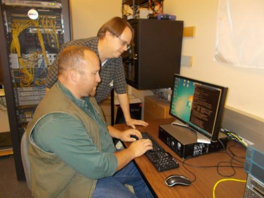 Great Falls College MSU computer lab