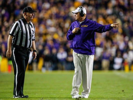 NCAA Football: Alabama at Louisiana State