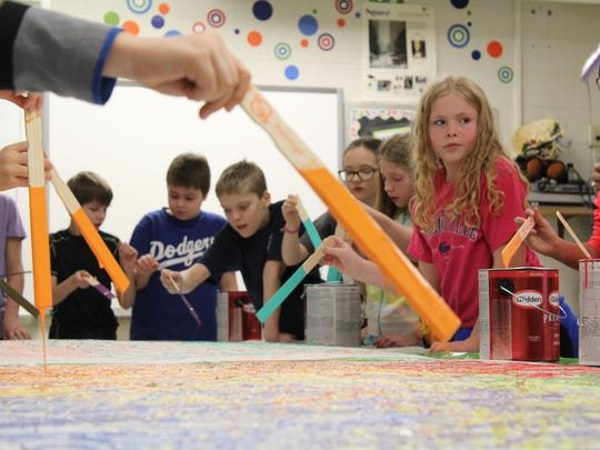 Grant Elementary School students participated in an