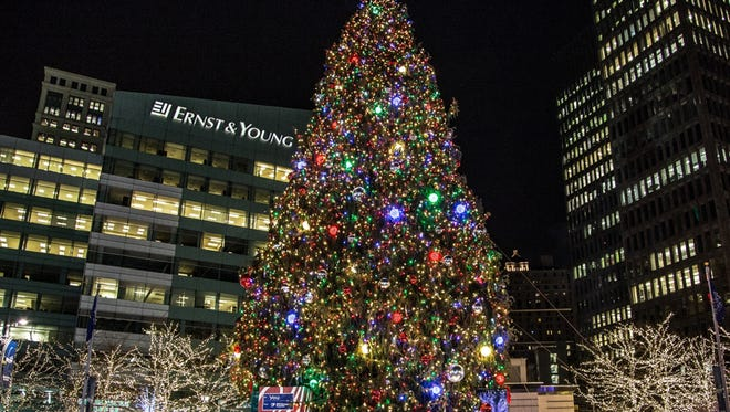 A full evening of activities will keep guests at the Campus Martius Tree Lighting entertained all night long.