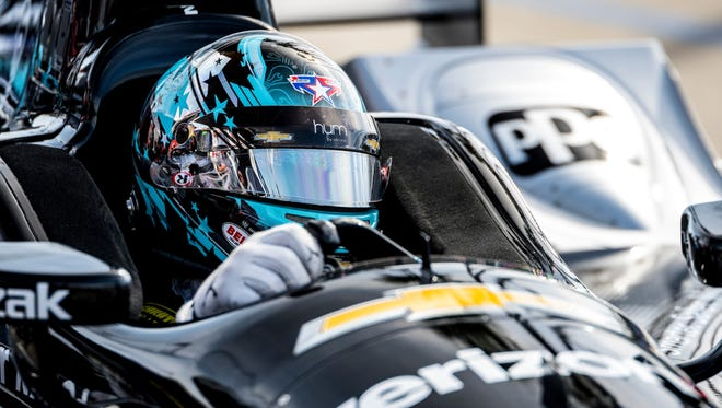 Young American driver Josef Newgarden of Team Penske is one of the NEXT stars of INDYCAR.