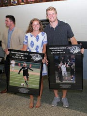 Monday night was a celebration of the many great athletes