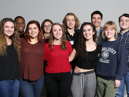 The Rivertowns high schools students photographed at