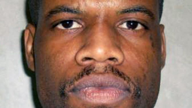 Clayton Lockett, shown in a 2011 file photo, died on April 29, 2014 during a botched execution at an Oklahoma prison. An official report into the incident found that prison staff failed to realize that lethal drugs were not going directly into Lockett's veins.
