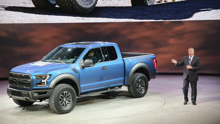 Howes: Ford bets future on rich past of pickups, SUVs