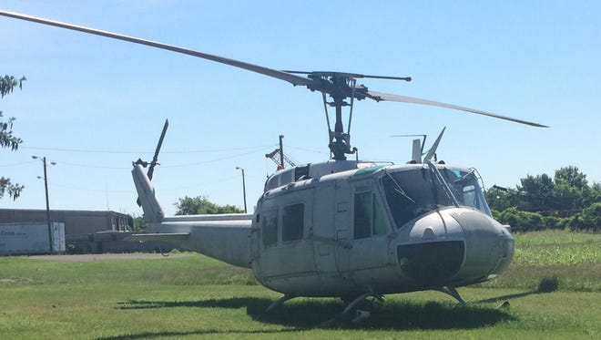 A UH-1 Huey helicopter used in Vietnam will be restored and displayed at the new Wilson County Veterans Museum scheduled to open in October.
