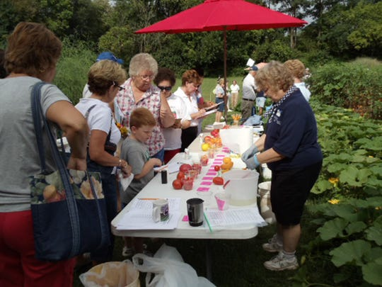 Many enjoyed the open house at the demonstration gardens