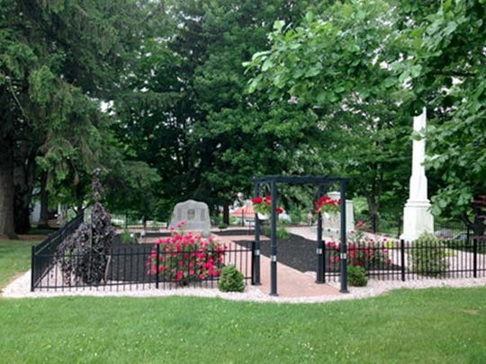 The Prayer Garden at Upper Path Valley Presbyterian Church.