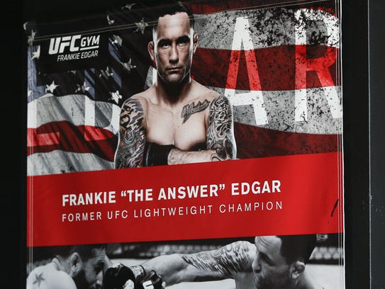 Frankie Edgar, former Lightweight Champion of the UFC,