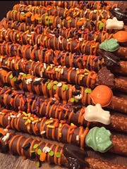 Chocolate covered pretzles from Trina's Treats, Lyndhurst