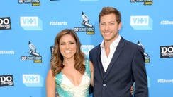 Sophia Bush and Google executive Dan Fredinburg arrive