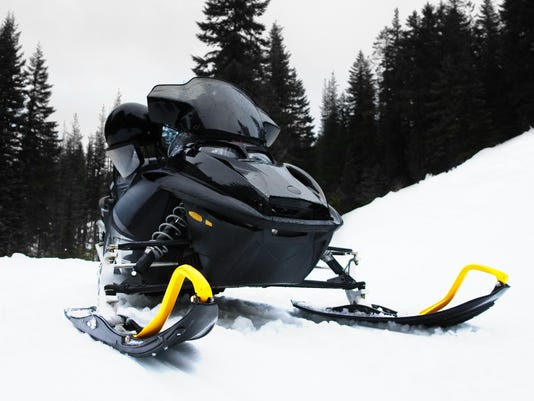 stock snowmobile