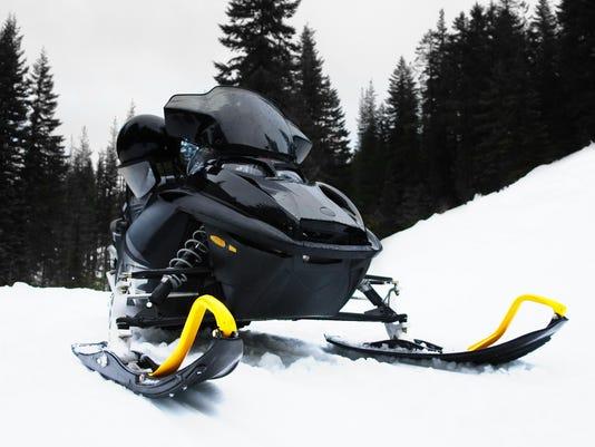 stock snowmobile