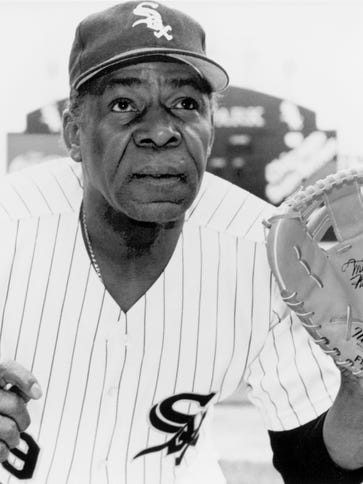 Minnie Minoso was the first black Major League Baseball