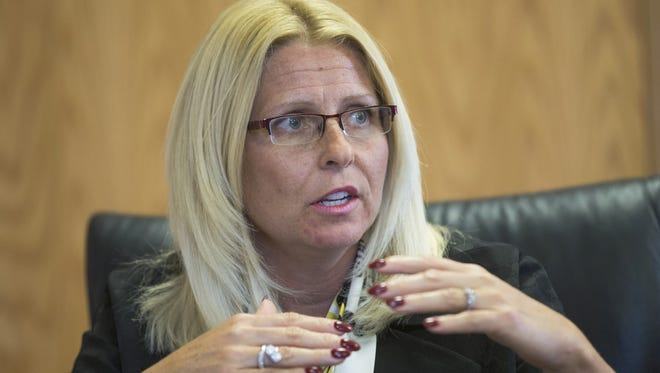 Former VA hospital chief Sharon Helman, who was convicted in May 2016 of criminal misconduct in office, could get her job back, arguing that the procedures used to fire her were unconstitutional.