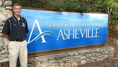 North Buncombe senior pitcher Hunter Burnette has committed to play college baseball for UNC Asheville.