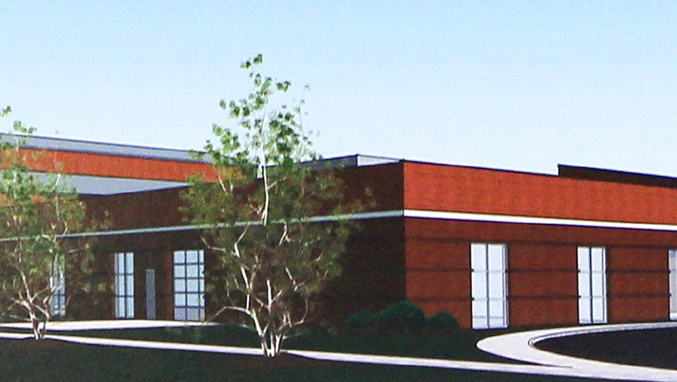 An artist's rendering of the expanded Anderson Area