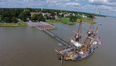 Tall ship Kalmar Nyckel to star in Day in Old New Castle festivities