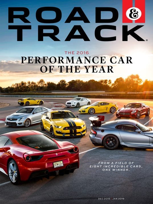 Detroit 3 dominate Road & Track performance car contest