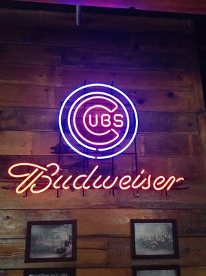The Chicago Cubs are an illuminating presence in 1908  Draught House in Johnston.