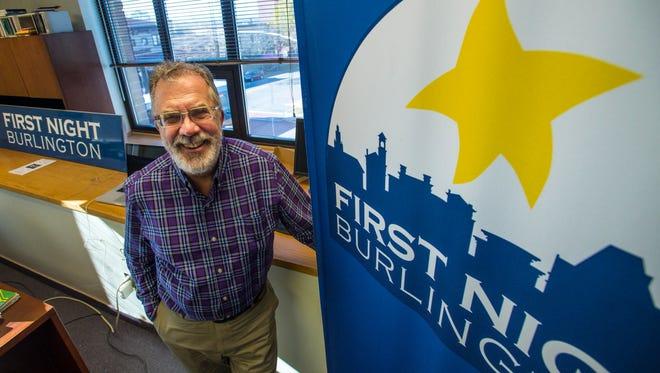 Tom Ayres, executive director of First Night Burlington, in Burlington on Tuesday, November 1, 2016.