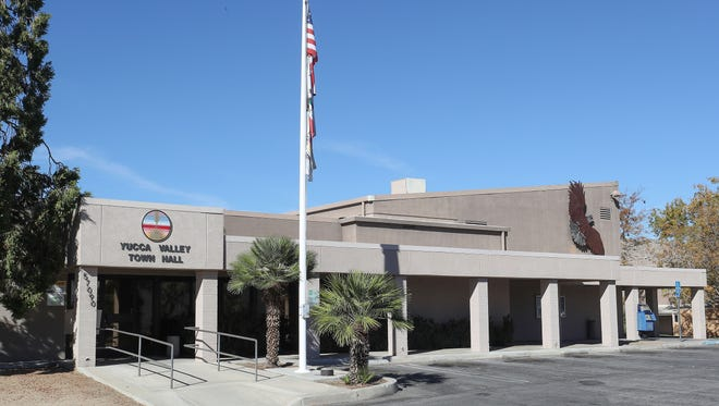 The Yucca Valley city hall building, November 24, 2017.