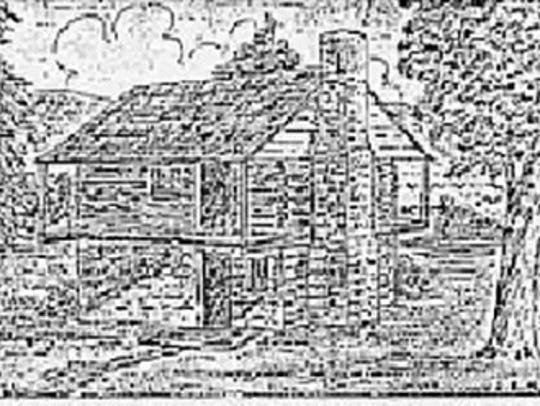 Drawing of the German School, undated