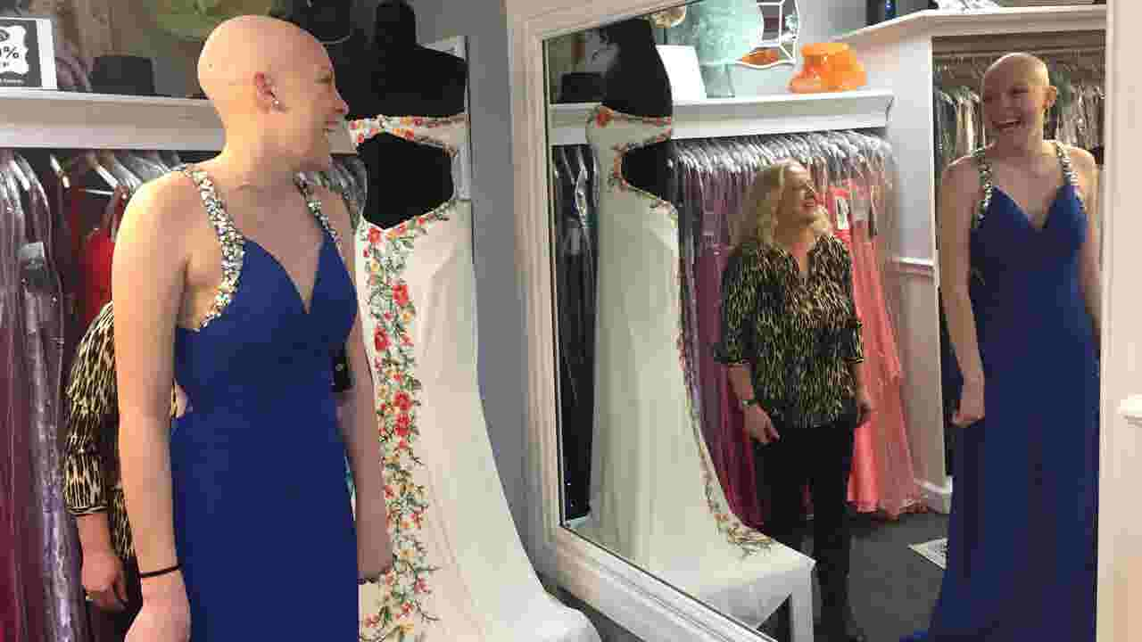 Fairfield Teen Battling Cancer Gets Prom Dress Donation
