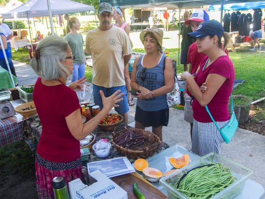 The Green Market at the Alliance for the Arts in Fort