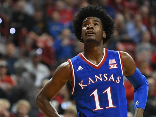 NCAA Basketball: Kansas at UNLV