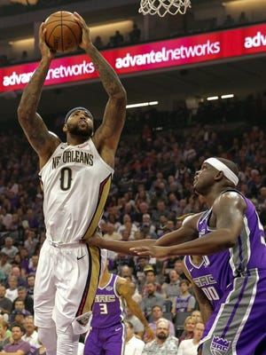 DeMarcus Cousins scored 41 points in his return to Sacramento.