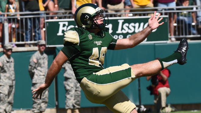 Punter Hayden Hunt is averaging 46.3 yards a kick for a CSU team that ranks second nationally in net punting. Hunt, who didn't learn to punt until his first year at CSU, is one of three finalists for the Ray Guy Award as the outstanding college punter in the nation.