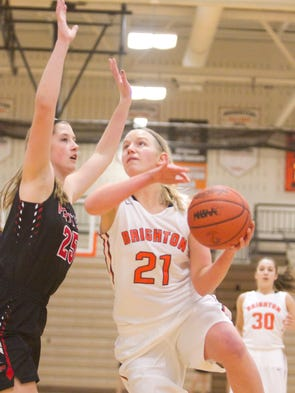 Brighton's Julianna Pietila scored 14 points and was