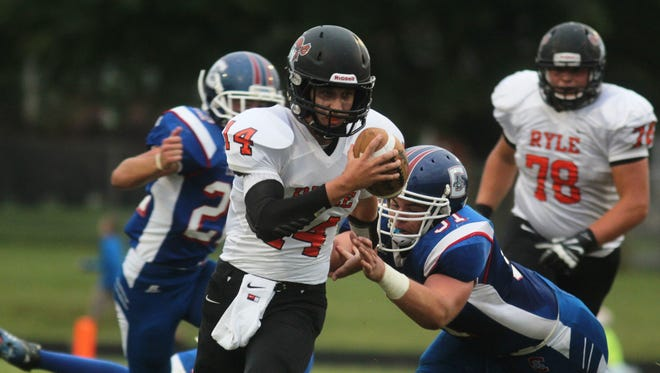 Ryle quarterback Ryan Rytlewski has has been under center for a Raiders squad that has won four of their past six games, including three consecutively.