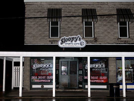 The original Sloopy's Sports Cafe in Lakeside caught fire early Saturday morning, causing significant fire and smoke damage throughout the building.