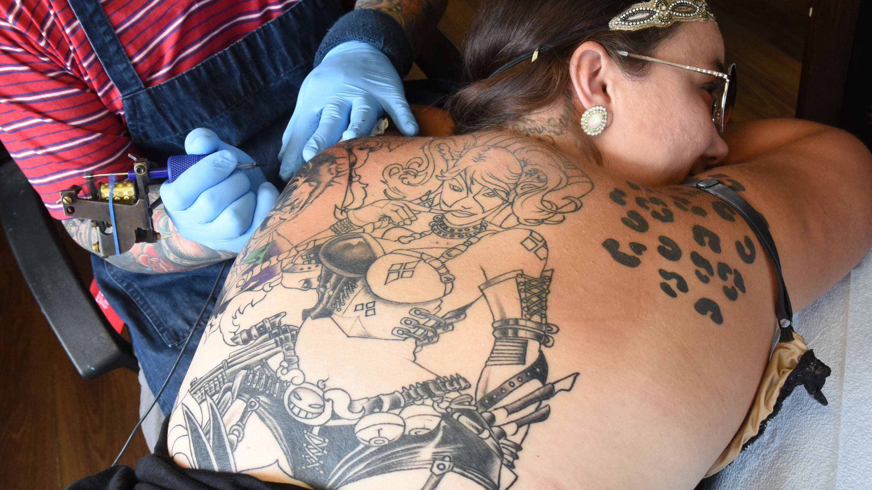 Blood sweat and ink the passion for tattoos for Bloody ink tattoo price