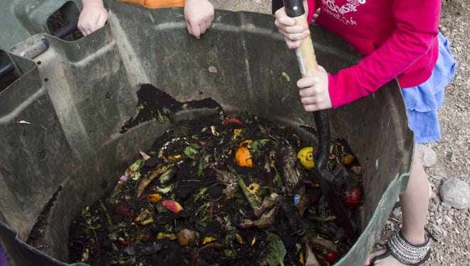 Earth Day activities include learning how to compost and garden.