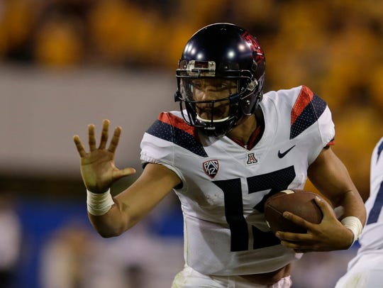 Arizona transfer Brandon Dawkins lost the starting