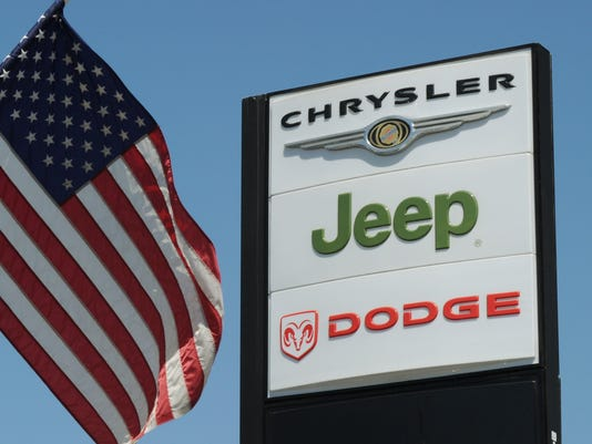 (FILES) View of a Chrysler Jeep Dodge si